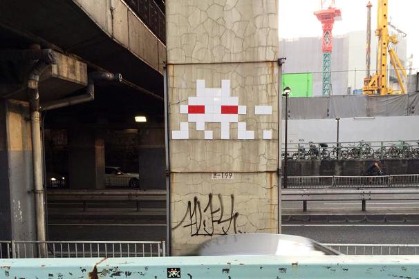 東京にも発生! 世界中に散らばるインベーダーを探すアプリがすごい