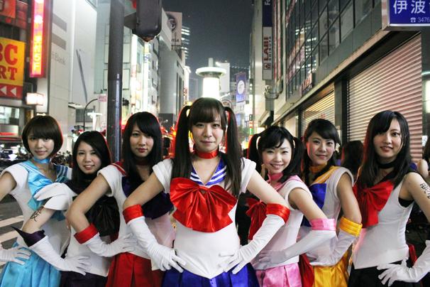 2014年10月31日のハロウィン@渋谷