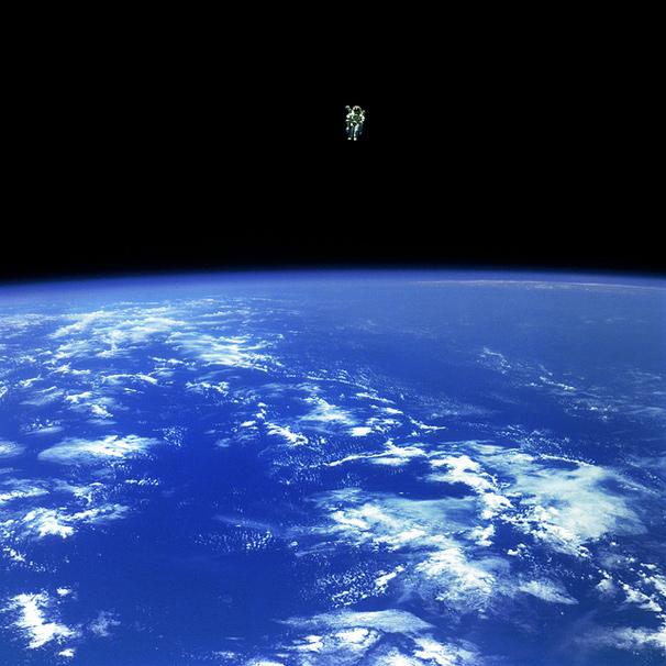 アカデミー賞祝いのNASAによる本物の「ゼロ・グラヴィティ」写真2