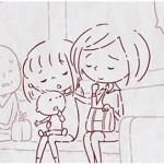 電車の中での『小さなやさしさ』の連鎖。1分でココロやさしくなれるアニメ!