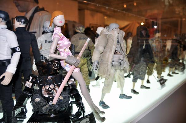 アシュレイ・ウッドのThreeA(3A)日本初個展16
