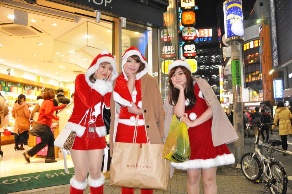 渋谷サンタコスプレ美女画像まとめ22