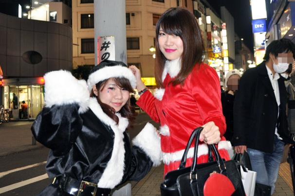 渋谷サンタコスプレ美女画像まとめ23