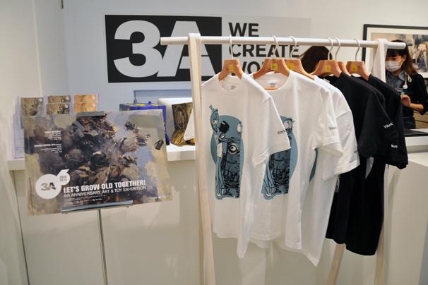 アシュレイ・ウッドのThreeA(3A)日本初個展21