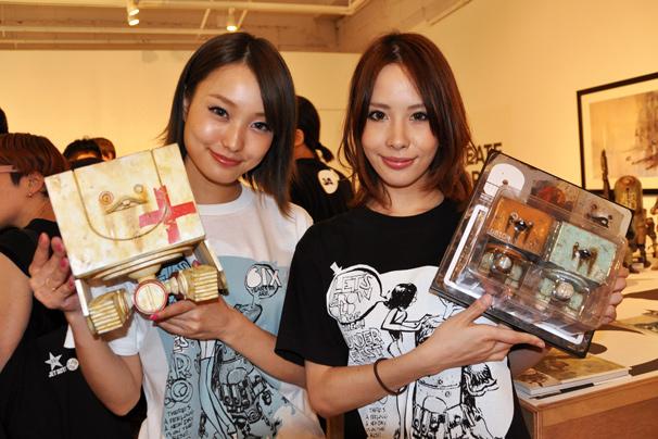 アシュレイ・ウッドのThreeA(3A)日本初個展5