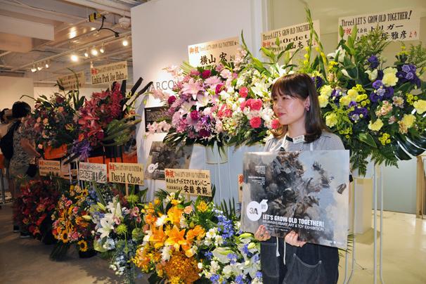アシュレイ・ウッドのThreeA(3A)日本初個展7