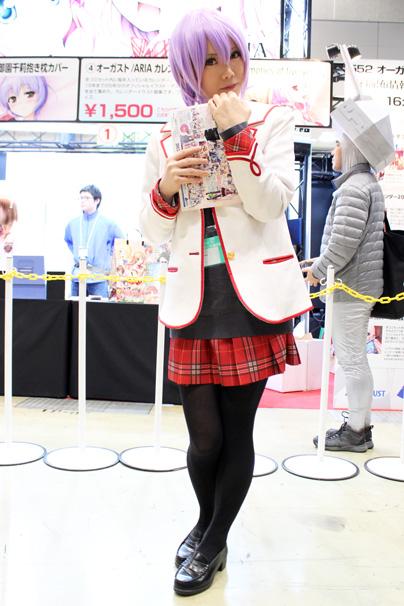 コミケ87コスプレコンパニオン2日目画像まとめオーガスト/ARIA2