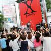 X JAPANがPV撮影のためゲリラライブ! 新宿駅前がパニックに