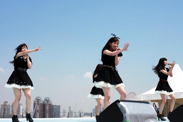 【TIF2014】九州発のGALETTeが魅せた! 出場権を得たメインステージで涙