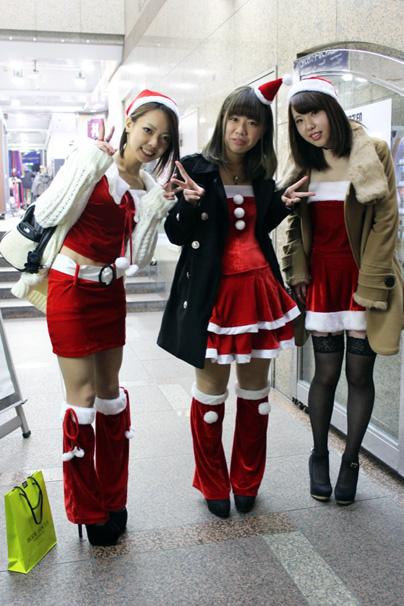 渋谷サンタコスプレ美女画像まとめ8