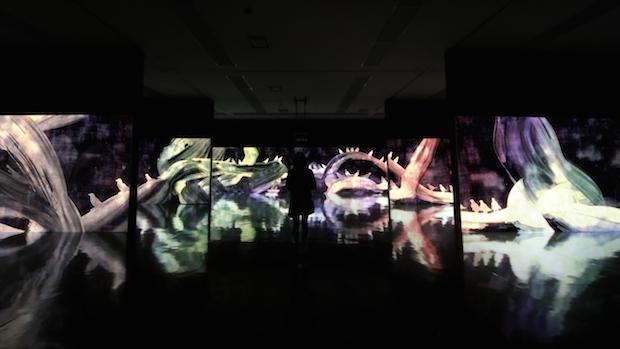 チームラボがNY初展覧会! 超巨大インスタレーションが完成
