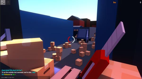 敵も味方も段ボール! FPSゲーム「What The Box?」がカオス