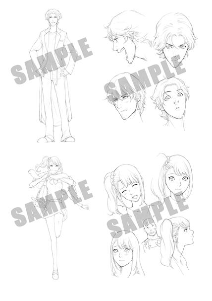 キャラクター設定集/(C)2009-2014 MAGES./5pb./Nitroplus/RED FLAGSHIP