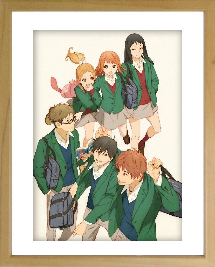 アニメキャラクターデザイン・結城信輝さんによる複製原画イメージ例