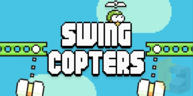 伝説のゲーム「Flappy Bird」削除から半年、待望の新作「Swing Copters」登場