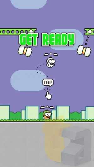 ��Swing Copters�פΥ����