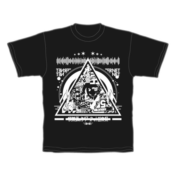 あきねっと-秋葉原インターネット音楽祭- Tシャツ ブラック