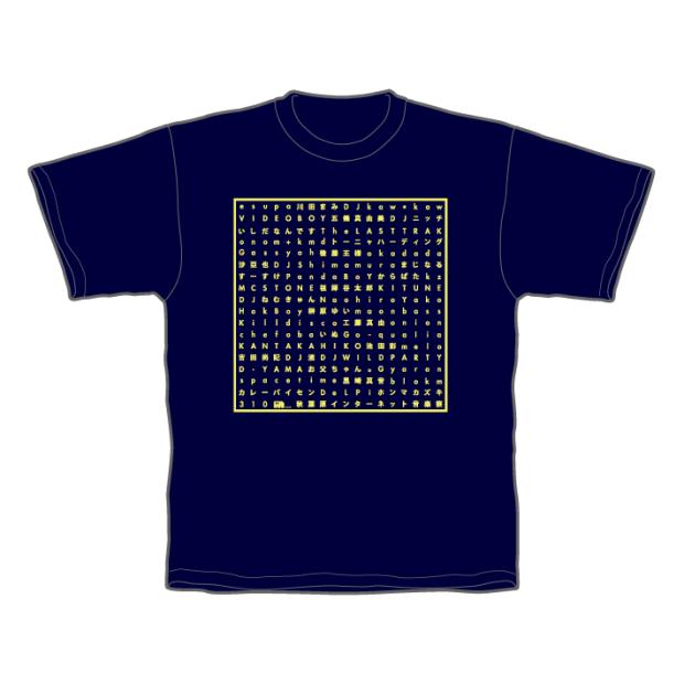 あきねっと-秋葉原インターネット音楽祭- Tシャツ ネイビー