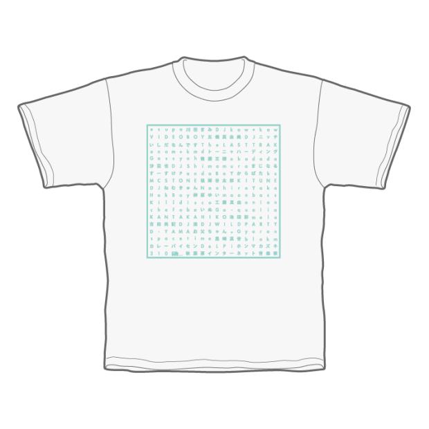 あきねっと-秋葉原インターネット音楽祭- Tシャツ ホワイト