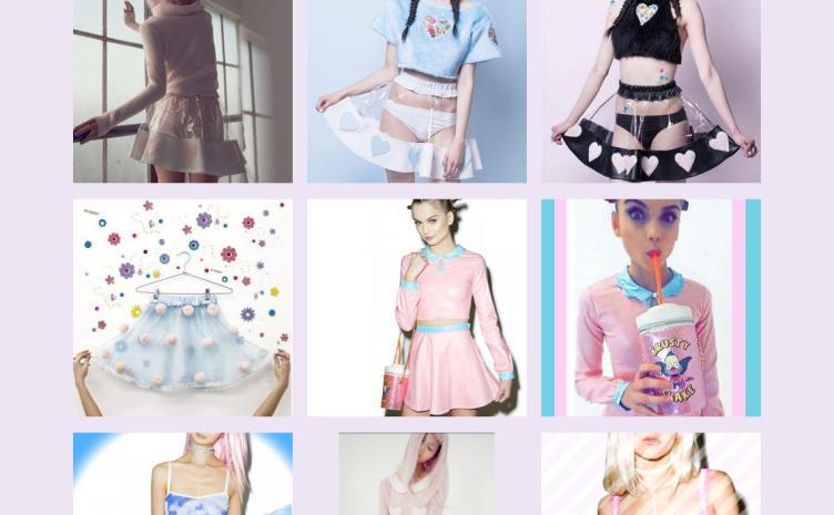スケルトンスカートや空柄ベビードール 「ゆめかわいい」テーマのオンラインセレクトショップ