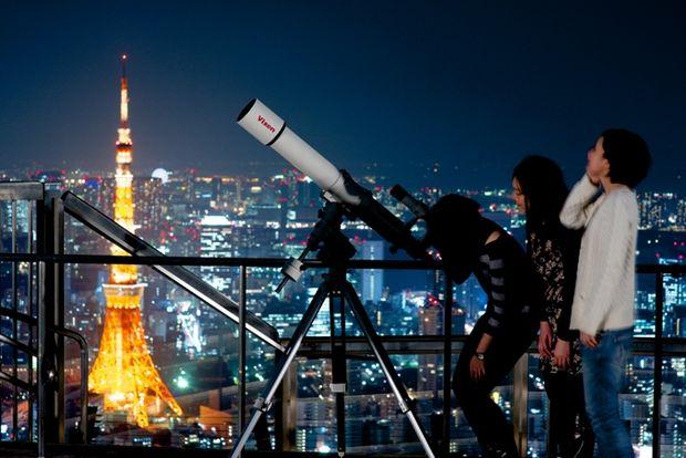 七夕デートは星空観察会で楽しも♡  六本木ヒルズでロマンチックな夏