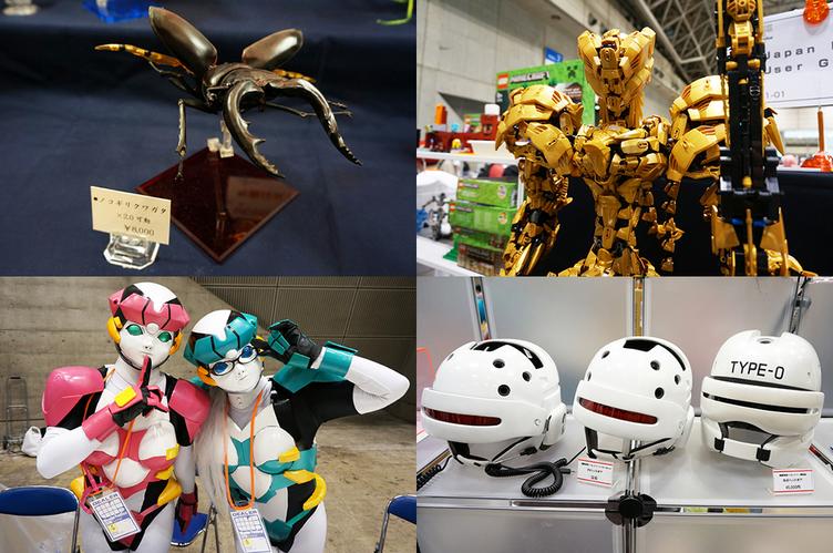 【ワンフェス2016夏】「一万円札専用マグネット」に巨大昆虫模型! 個人ブースまとめ 後編