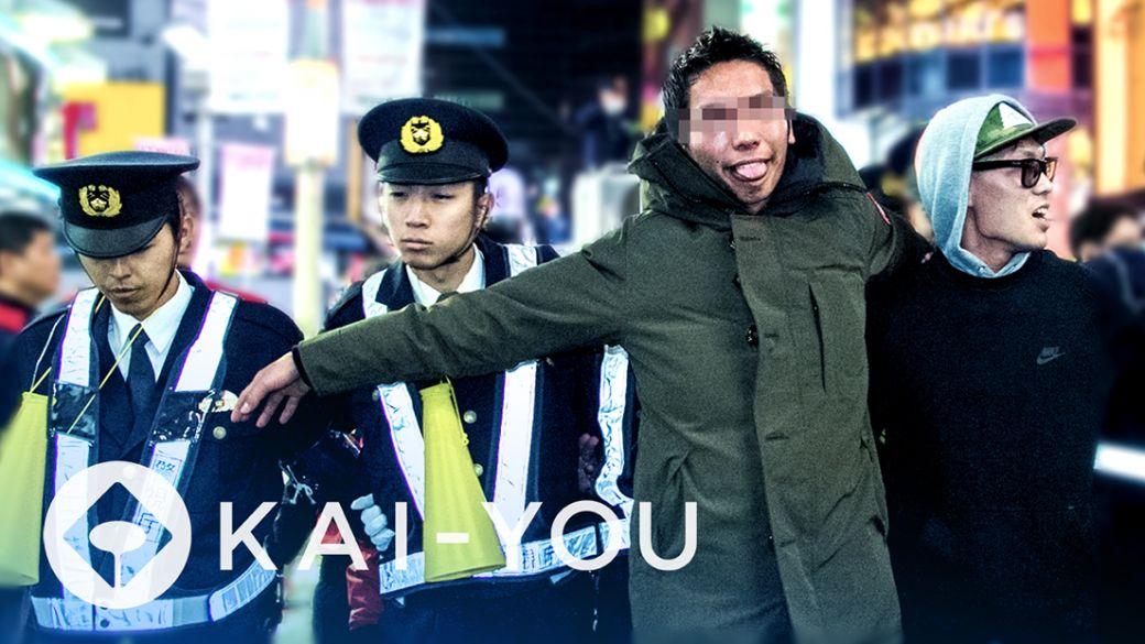 【動画】狂乱の渋谷カウントダウン 封鎖された交差点の真相
