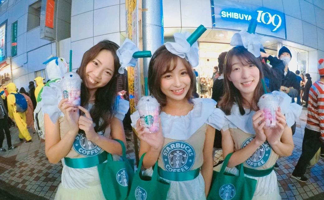 【写真】2017年も渋谷ハロウィンは大騒ぎ! みんなの仮装をGoProで撮ってみた