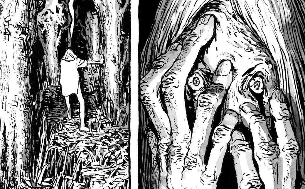 長編漫画「BIBLIOMANIA」連載 第5話「276号室の沼」