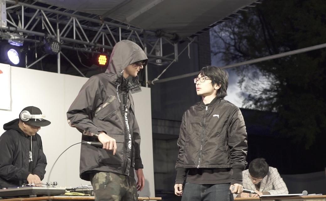 【三田祭/慶早RAP BATTLE】学生のえげつないディスにDOTAMAうなる