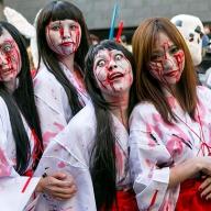 【写真】川崎ハロウィンのコスプレ仮装パレード! 12万人が沸いた圧巻のクオリティ