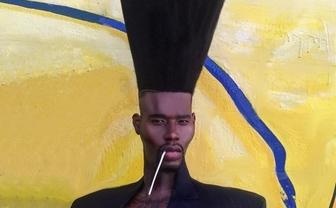 ギネス「世界一縦に長い髪型」が超フォトジェニック 世界が注目する親子とは?