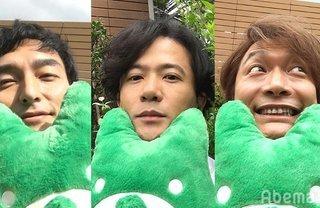 元SMAP稲垣、草彅、香取のSNOW姿がかわいい! 72時間生放送やSNSも発表