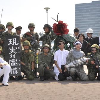 【コミケ90】ネタ系コスプレまとめ シン・ゴジラにスプラトゥーン!