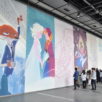 ディズニー・アート展1