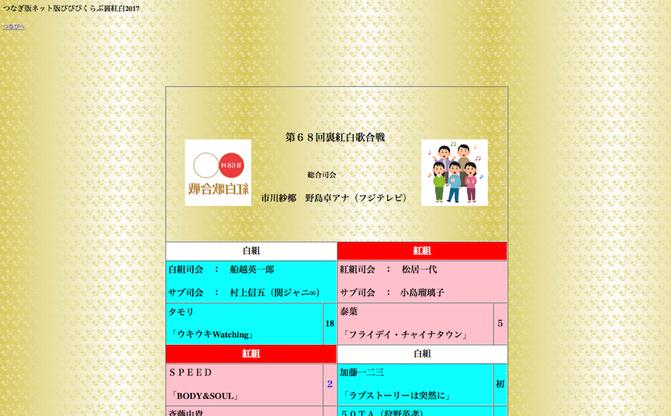 小出恵介にASKA、りりぽん、千眼美子らも「裏紅白歌合戦2017」発表