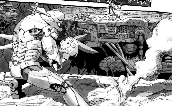 長編漫画「BIBLIOMANIA」連載 第3話「413号室の鳥と385号室の英雄」