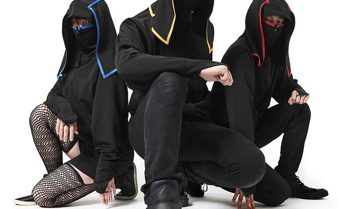 誰でも忍者になれるジャージ、その名も「忍者ージ」 黒装束で闇に潜め!