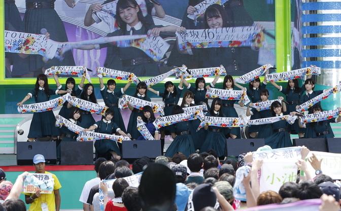 【TIF2017】大熱狂の欅坂46+けやき坂46!夏曲&新制服で最高のステージへ