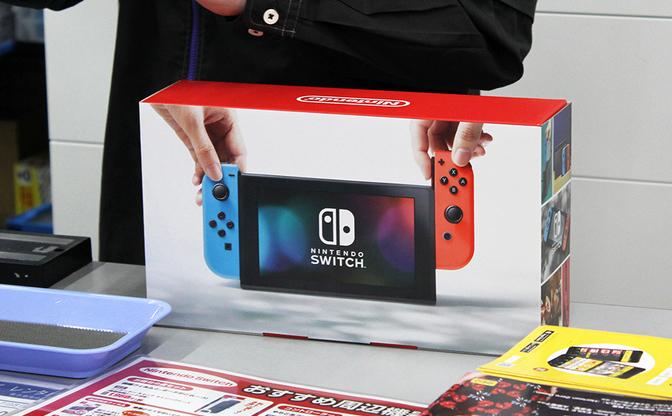 ゲオ北新宿店に『Nintendo Switch』を買いに行ったけど当日分は瞬殺でした…!