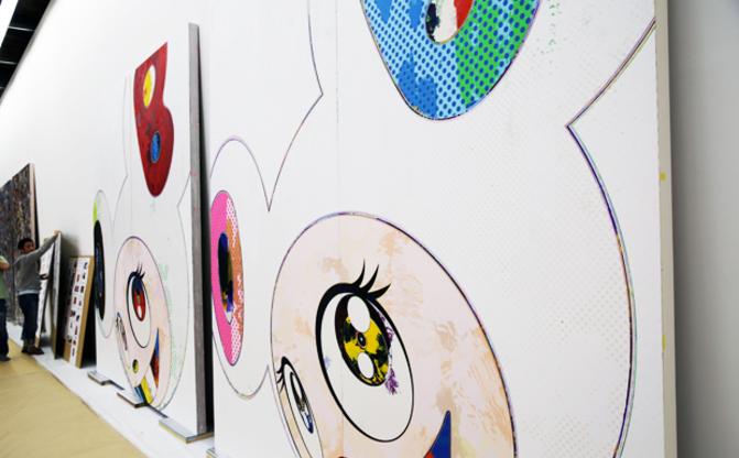 村上隆さん率いるカイカイキキの三芳スタジオ見学ツアーに行ってきたよ