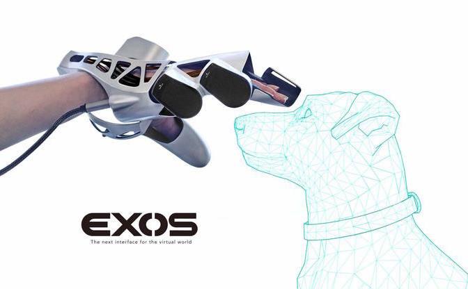 電脳コイルを越えた… 触覚VRの到来を告げるデバイス「EXOS」がすごい