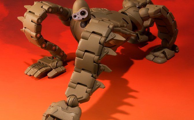 『ラピュタ』ロボット兵、57カ所が可動する最強フルアクションモデルで復ッ活!