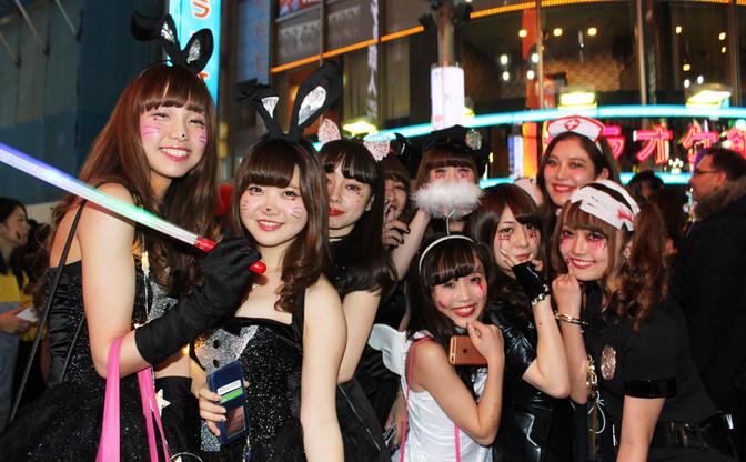 【写真】JKとJDで溢れる渋谷ハロウィン当日! 女子が求める非日常とは?