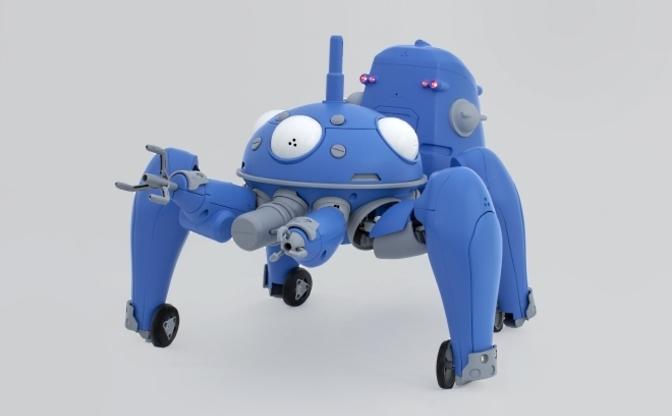 動いてしゃべって並列化する『攻殻機動隊』タチコマ、15万円で自宅に届く