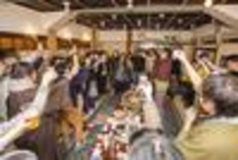 臨仙閣でのアフターパーティー