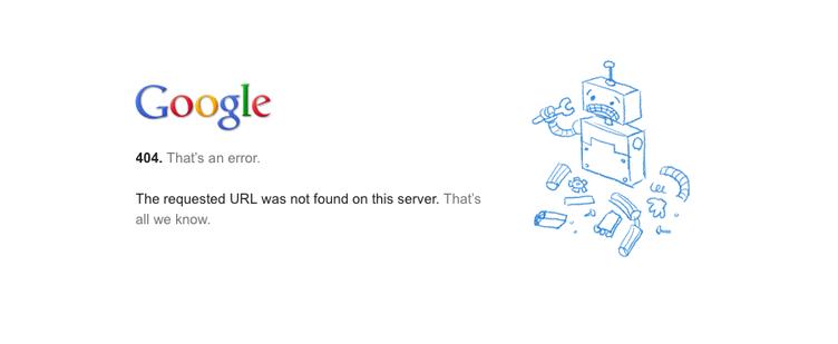Google Driveに接続障害が発生中、新サービスの兆しか?