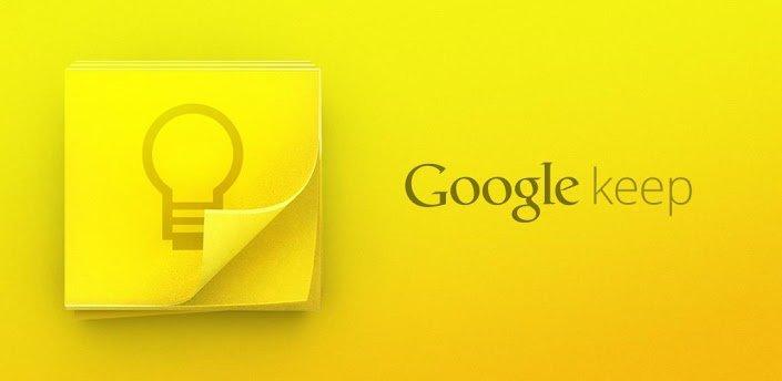 Google、新サービス「Google Keep」をリリース!