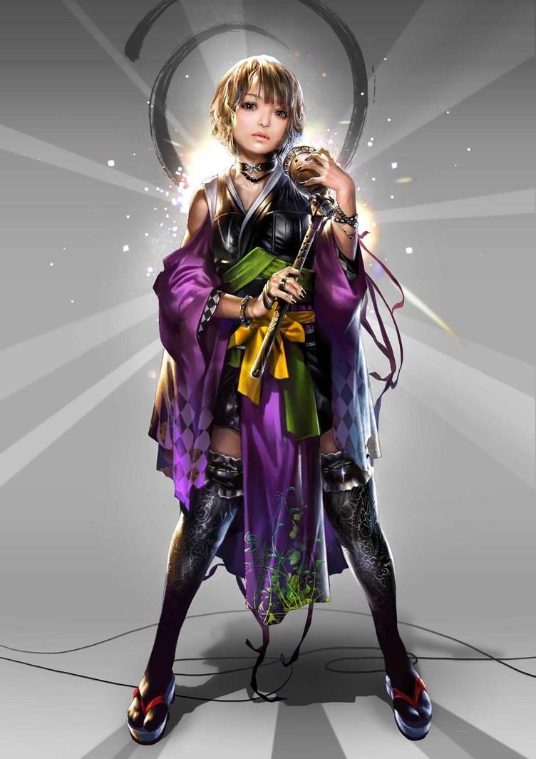アニソン界の歌姫・May'nと大人気戦国ゲーム『鬼武者Soul』とのコラボ! 新歌姫武将「May'n」ビジュアル公開