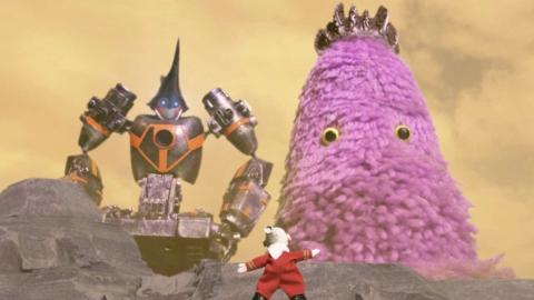 「新世紀末 奴との遭遇」 今度のアニメバンチョーは、コマ撮りで宇宙SF ?!